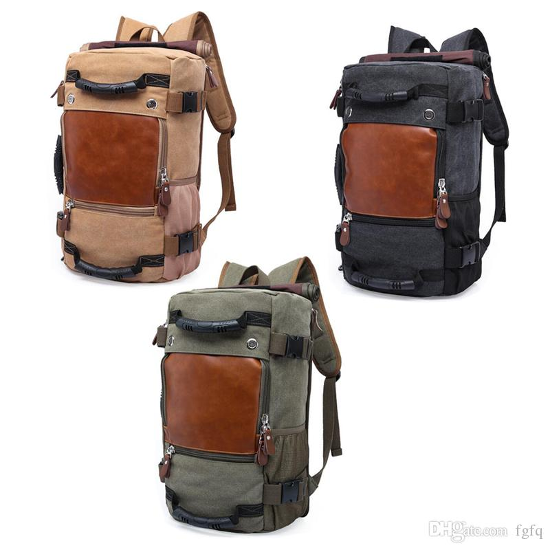 6c57d9157ad2 Travel Outdoor Backpack - Hiking Camping Rucksack Pack - Casual Large  College School Daypack - Shoulder Book Bags Back