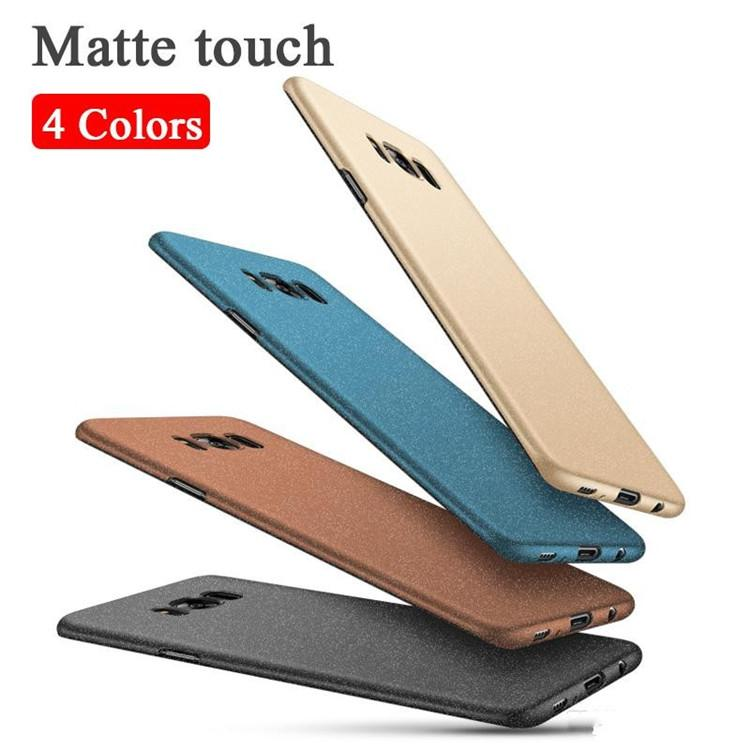 For Samsung S8 Case Fashion PU leather Ultra Thin Back Cover for Samsung Galaxy S8 Phone Case DHL free