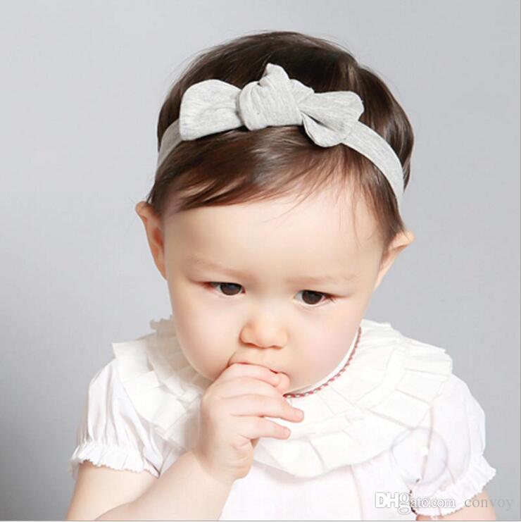 Korean Baby Headbands Girls Knot Turban Headband Kids Elastic Kitty Ear  Hairbands Children Cotton Hair Accessories Photo Headbands KHA477 Buy Hair  ... 79318b43aba
