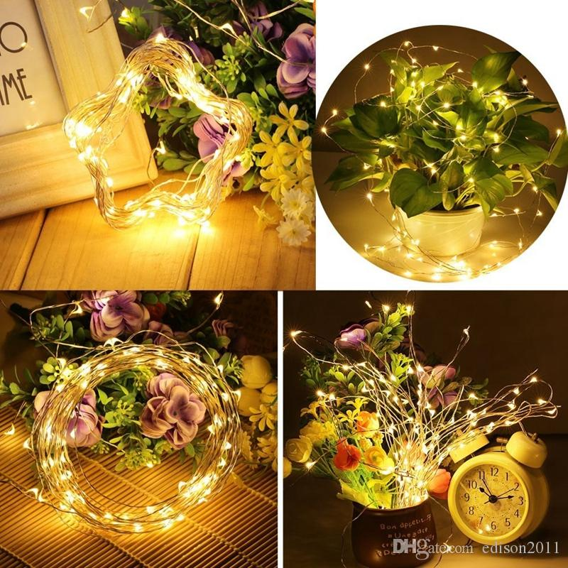 Edison2011 5V 5M 10M USB LED String Light Waterproof LED Copper Wire Light Outdoor Lighting Strings for Party Christmas Decoration