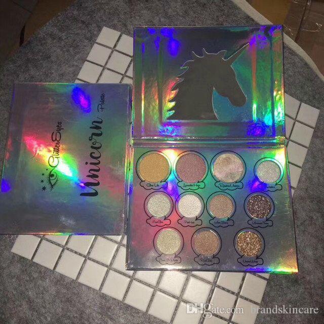 Stokta var!! Yeni Yüksek Kaliteli Makyaj Glitter Gözler 11 Renk Yüzü Pudra Paleti Bronzershighlight Glow Kiti Paleti DHL Ücretsiz Kargo