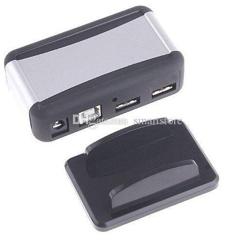 Di trasporto / Nuovo 7-Port 7 porte USB 2.0 ad alta velocità hub alimentato AC Adapter Cable 0001