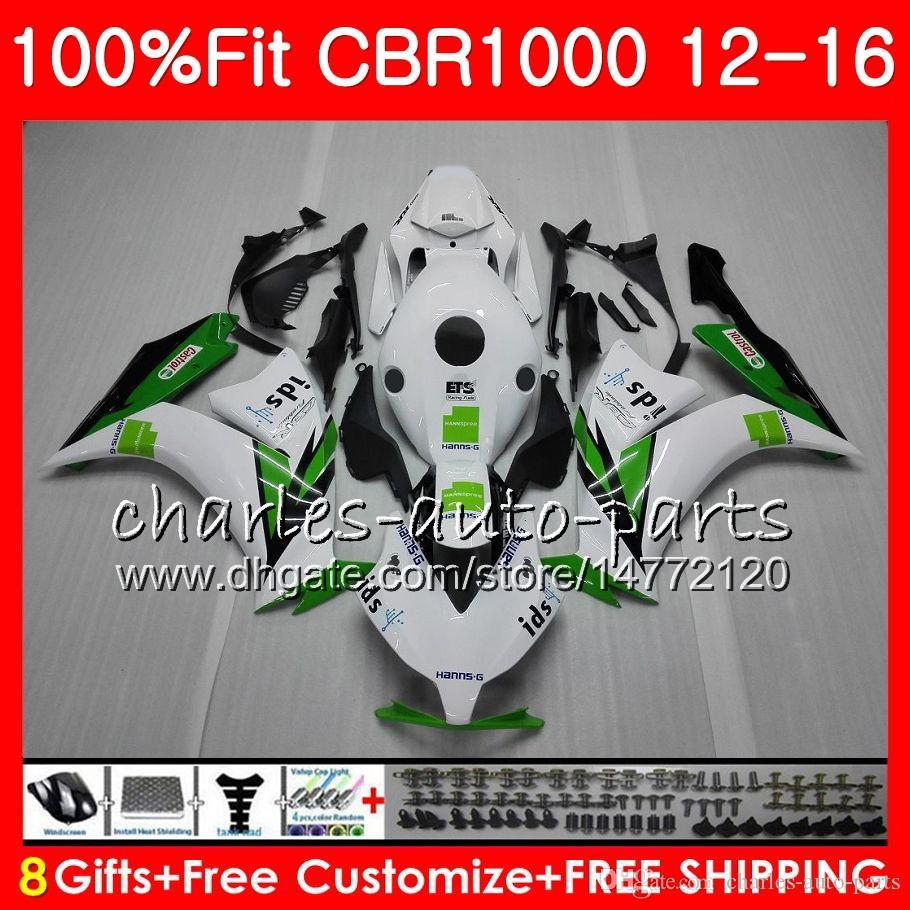 Injection Body For HONDA CBR 1000 RR CBR1000RR 12 13 14 15 16 HANNSpree 88NO2 CBR 1000RR CBR1000 RR 2012 2013 2014 2015 2016 Fairing kit