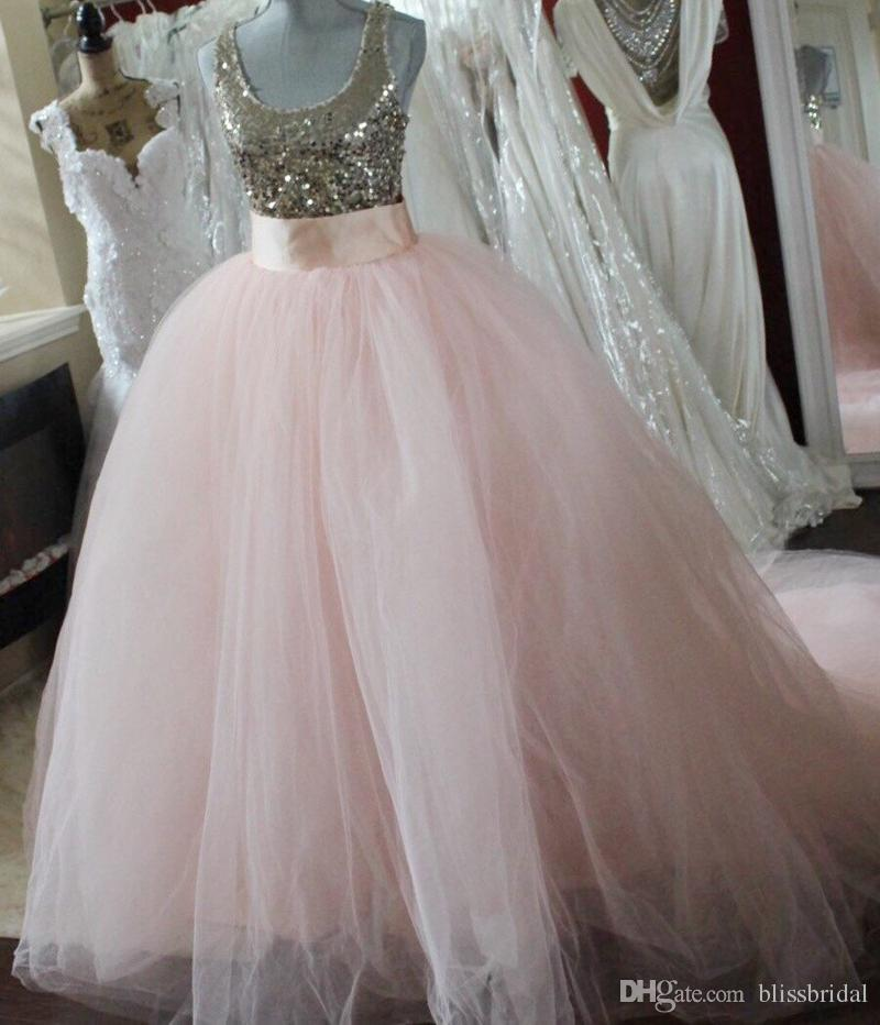 Detachable Blush Pink Ball Gown Skirt Removable Blush Tulle Romantic Blush Bridal Skirts Princess Ballgown Skirt Junior Bridesmaid Dresses Chiffon Little Girl Bridesmaid Dresses From Blissbridal 50 78 Dhgate Com