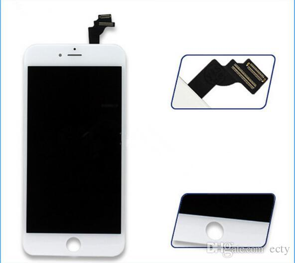 2017 Quality iphone 5c lcd black white LCD Display Touch Screen Digitizer Full Assembly for iPhone 5 5S 5C replacement Repair Parts DHL free
