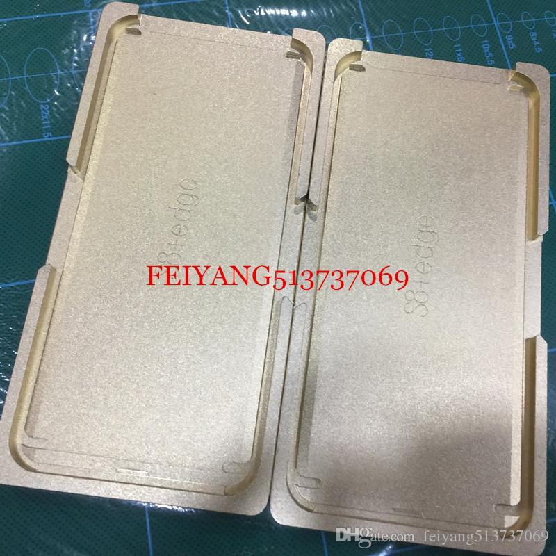 Top Precision Metal LCD Screen mould Positioning mold For Samsung Galaxy S8 /S8 plus Repairing Tools