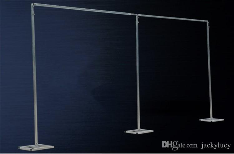 3M * 6M Hochzeit Drapierung Rohrständer / Hochzeit Dekor Piping Rahmen für drapieren / Stainess Stahl Hochzeit Hintergrund stehen