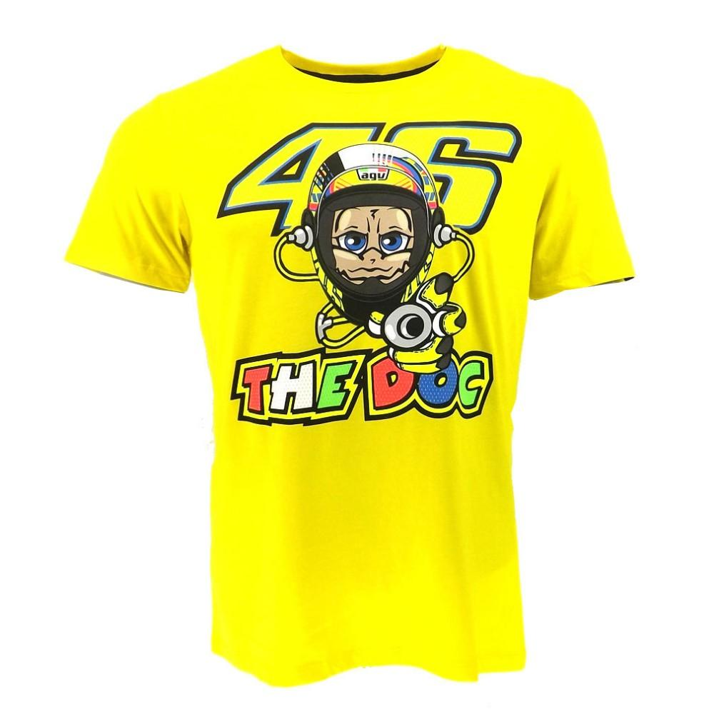 2019 New 2016 Motorcycle Motocross Casual T Shirt Valentino Rossi