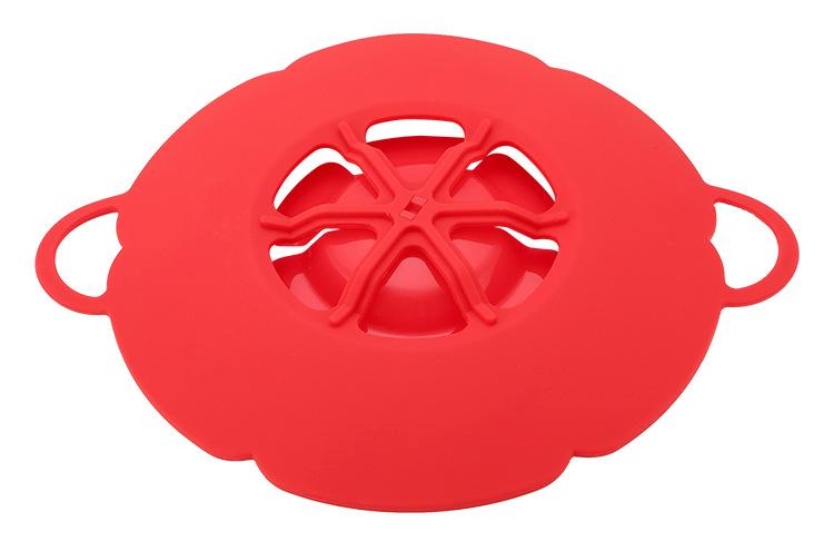 جديد وصول أدوات المطبخ سيليكون غطاء انسكاب سدادة وعاء غطاء 28.5 سنتيمتر القطر وعاء الطبخ الأواني إناء