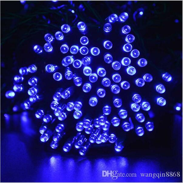 22M Solar String Light 8 Modes 200 Leds Multi-Colors Waterproof Led Christmas Lights For indoor outdoor Holiday Lights