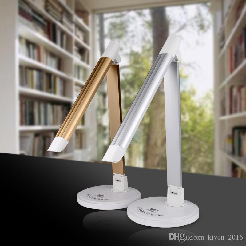 Eye protection led lamp six lights touch dimming LED lights fashion students to read folding table lamp fashion multi-angle adjustment lamps