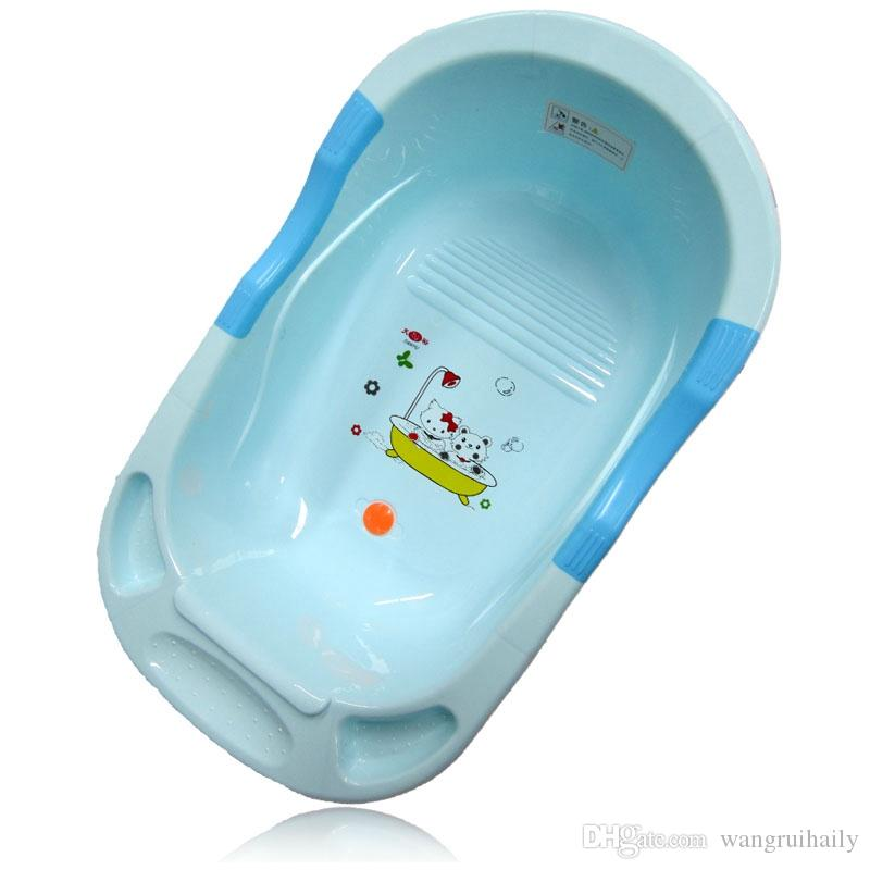 Best Infant Red Blue Child Bathtub Kids Cartoon Bathing Tub Baby ...