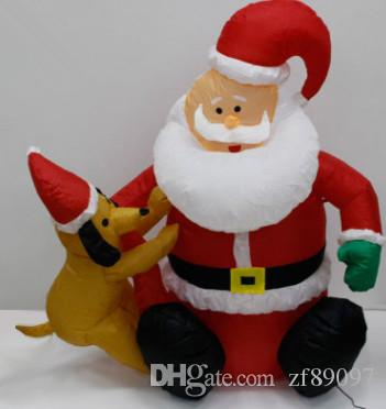 12 m outdoor inflatable christmas decorations christmas inflatable santa decoration christmas supplies cheap christmas decorations cheap christmas - Inflatable Outdoor Christmas Decorations On Sale