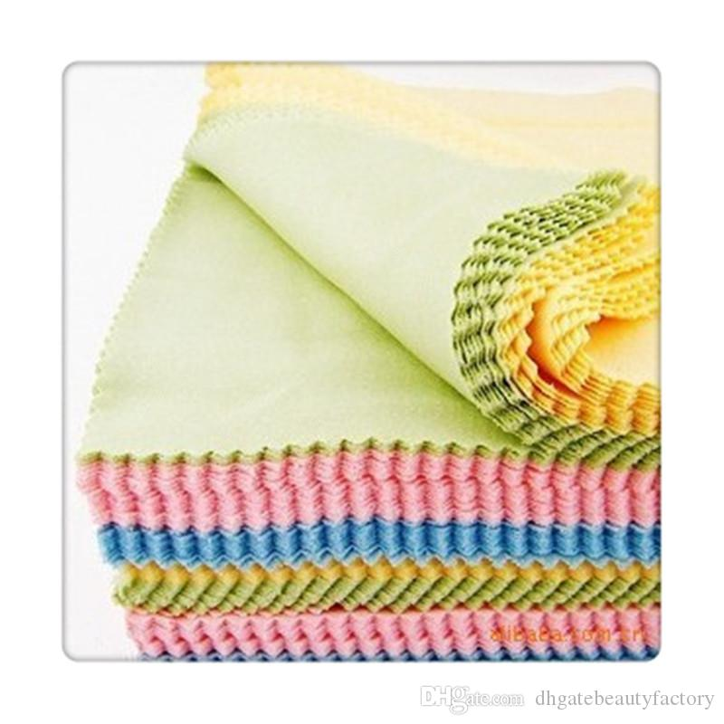Cleaning Cloths For LCD LED Tablet Phones Computer Jewelry Cleaners Polish Glasses Eyeglasses Wipes Dust Washing Cloth 95gsm Free DHL
