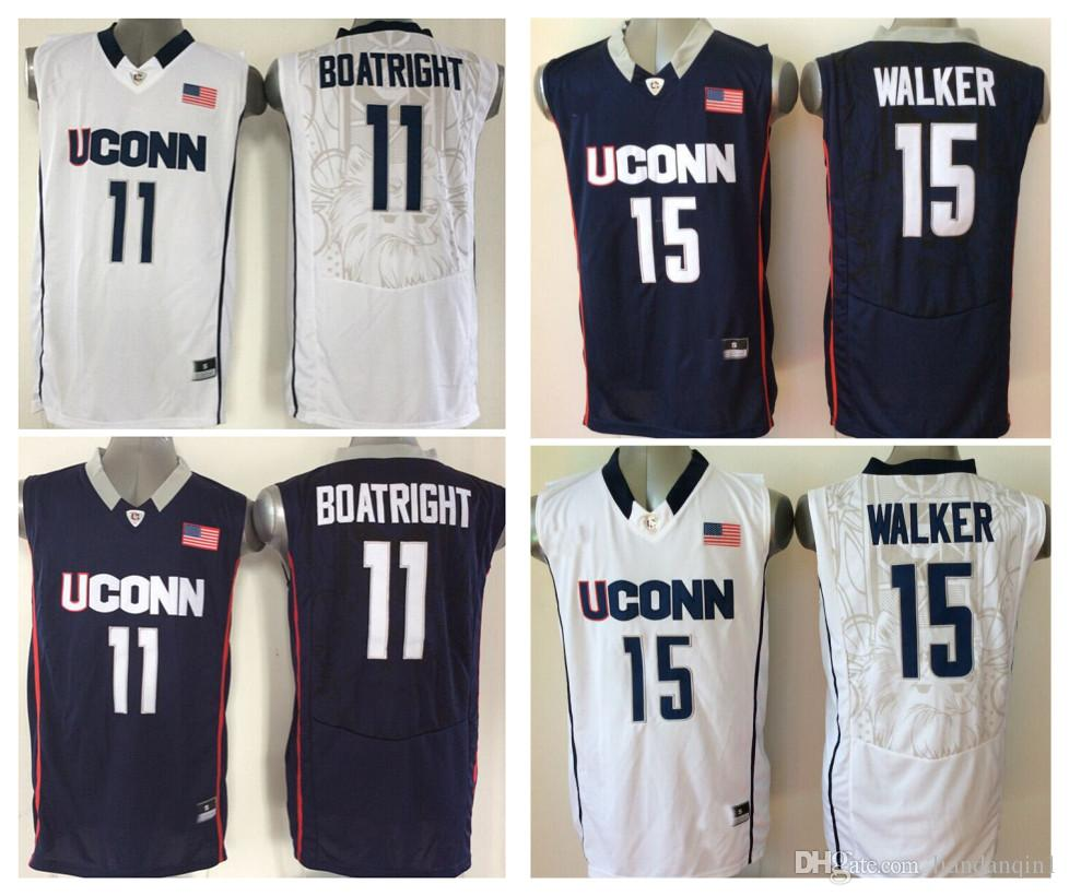 2d3955bd76d5 ... uconn huskies 15 kemba walker white jersey 2018 uconn huskies men jersey  15 kemba walker 11