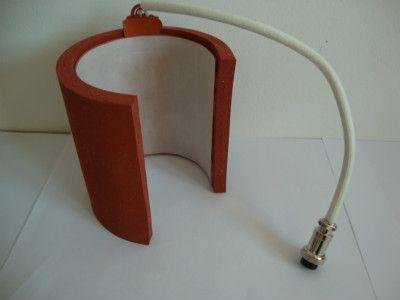 Freies Verschiffen Sublimation Becher Pressemaschine Accessoire 7.1cm Kleine Größe Zylinderform Silikon Becher Heizkissen Heizmatte
