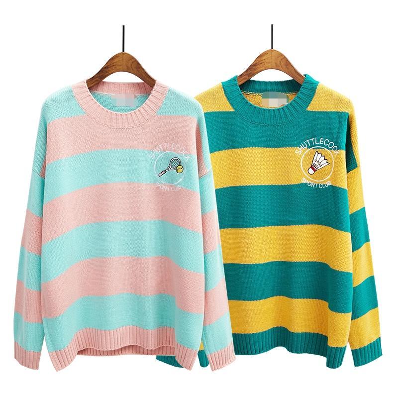 46a2a9d0a3f4 Wholesale-sweaters Women Harajuku Style 2016 Korean Kawaii Winter ...