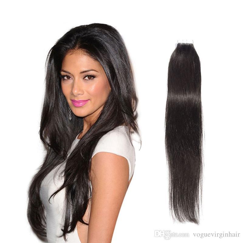Best Selling Tape Extensions Brazilian Human Hair Skin Weft Hair