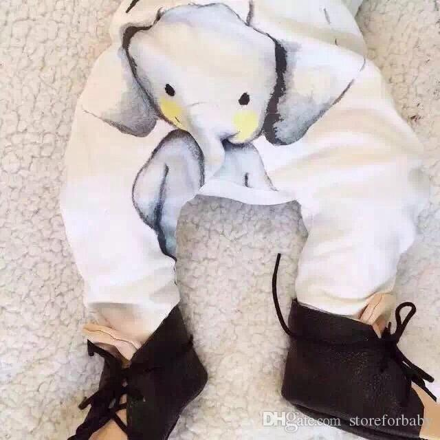hochwertige billige kinder kleidung großhandel 100% baumwolle elefanten hosen für säuglings baby jungen frühling herbst sommer böden kleidung baby kleidung