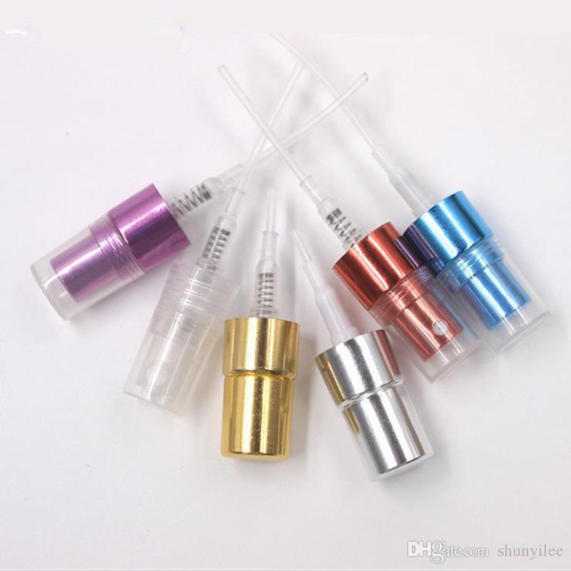 향수에 대 한 5ML Parfum 여행 스프레이 병 F2017586 알루미늄 스프레이와 휴대용 빈 화장품 용기