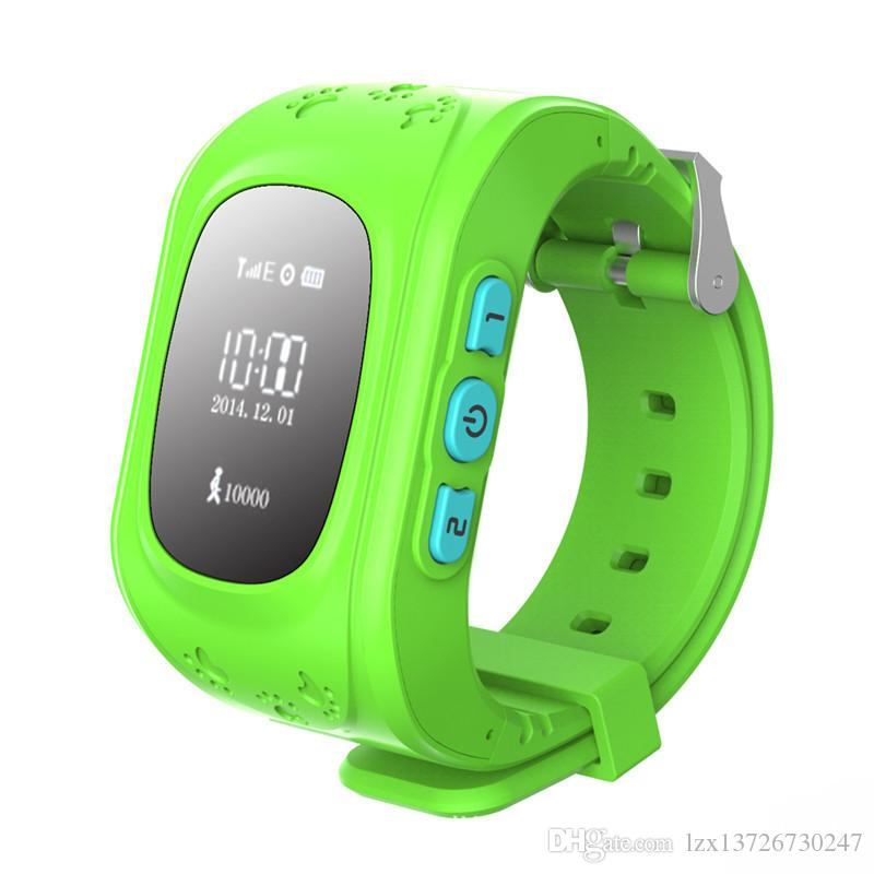 Q50 الأطفال LBS Tracker ساعة ذكية الهاتف SIM رباعية الموجات GSM Safe SOS Call PK Q80 Q90 Smartwatch لنظام التشغيل Android IOS