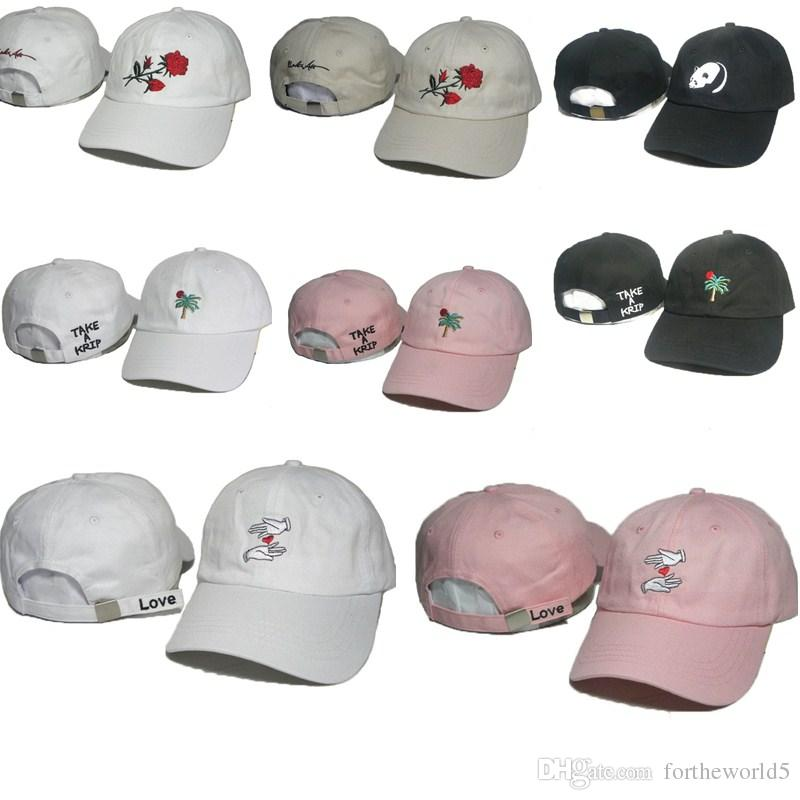 10b0f00102b HOT Sale The Hundreds Ball Cap Snapback Men Woman Sports Hat Rose ...
