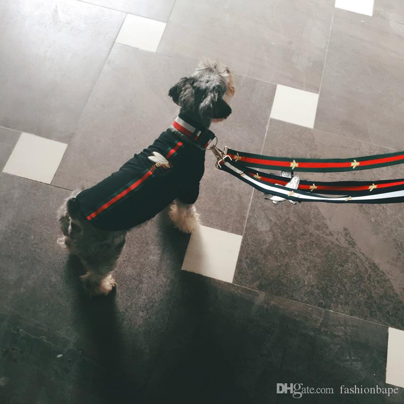Dog Collar Flashers Safety Collar Pet Leashes Fashion Teddy Schnauzer Adjustable Strap Vest Collar Car Seat Belts