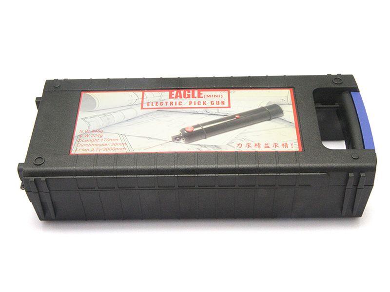 Locksmith Lock Pick Tools Eagle 미니 전기 픽스 건 자체 클램핑 스크류 바늘 정밀하게 조정 가능한 힘 크기 소량 저중량