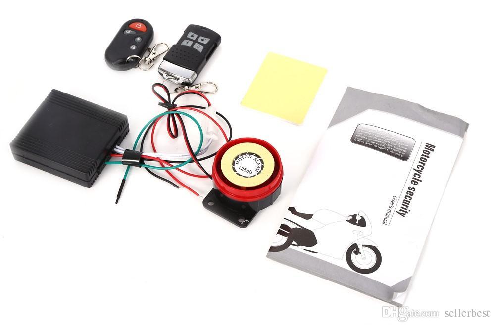 Motorrad MOTO Fahrrad IC Karte Alarm Induktion Sicherheitsschloss Wegfahrsperre System Mikroprozessor Einfache Installation Anti Lost interf thef