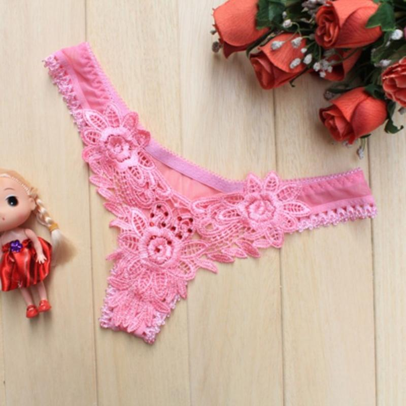 Women Sexy Underwear Floral Lace Briefs Panties Thongs Underpant Lingerie G-strings 2017 Hot