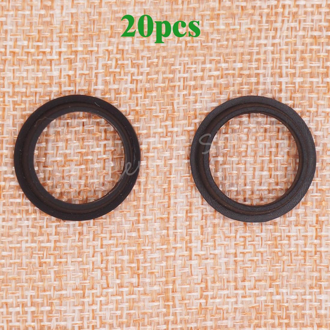 20pcs Universal Car Pdc Parking Sensor O Ring 6923000 For Gm Chrysler Peugeot Buick Parking Bumper Object 0263006052 Etc Black