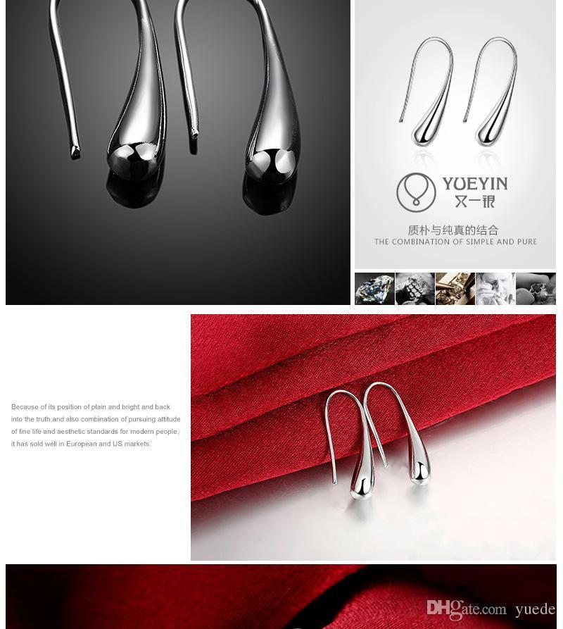 بيع الأزياء والمجوهرات الجديدة 925 الفضة الأزياء الإبداعية السنانير الأذن أقراط صالح باندورا الإناث الكريستال من سواروفسكي بسيطة