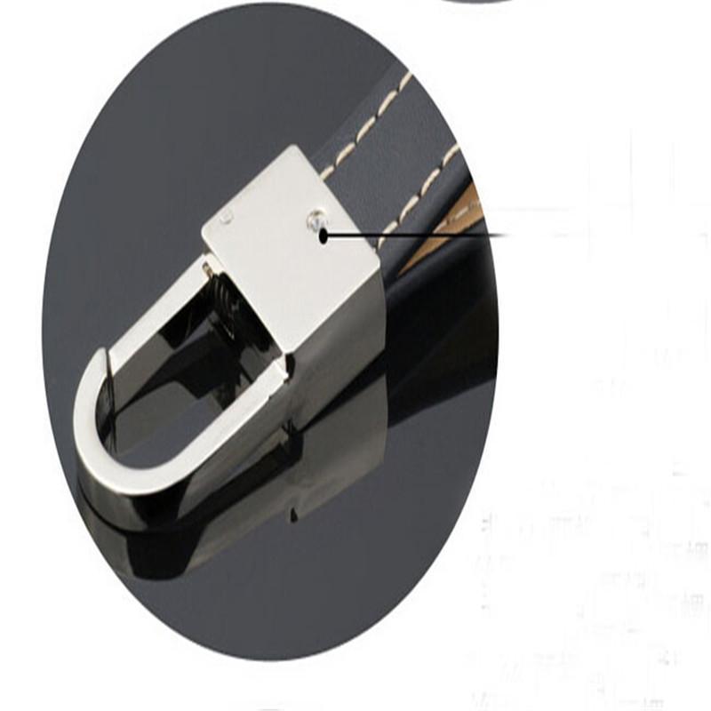주문을 받아서 만들어진 가죽 자동차 스티커 Keychains 열쇠 고리 중요한 부속품 고품질 자유로운 선박
