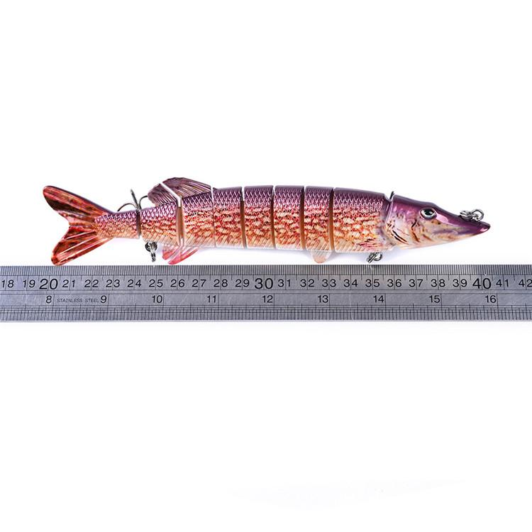 New Saltwater Fishing Big Game Sea Lure 66g 20cm ABS Plastic 8 sections Hard Bait Bass Baits