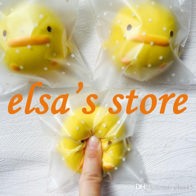 2018 Squishies Wholesale Rare Squishy Anime Kawaii Duck Squishy Toy For Kids Lanyard For Keys ...