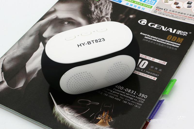 Nuovi altoparlanti Bluetooth wireless bicicletta di alta qualità mini altoparlante portatile con lettore di suoni e audio con radio Aux / FM / TF