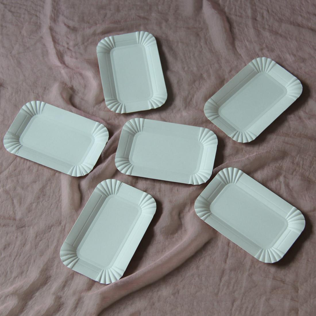 Online Cheap Wholesale Hot Selling Disposable Paper Plates Rectangular Dinnerware Paper Plates Festival Wedding Party Supplies By Sophine12 | Dhgate.Com & Online Cheap Wholesale Hot Selling Disposable Paper Plates ...