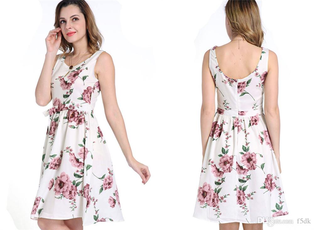 Backless Short Casual Dresses