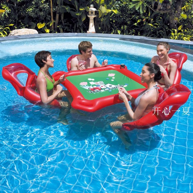 Compre Juegos Acuaticos Fiesta En La Playa Mesa Inflable Juguete