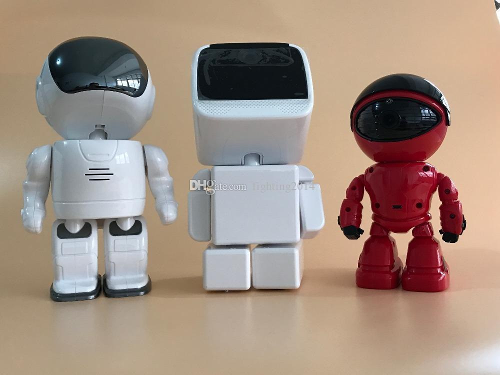 Robot Camera WIFI HD 720P mini telecamera IP Pan / Tilt bidirezionale Audio visione notturna wireless Sorveglianza di sicurezza domestica Nanny Telecamera baby monitor