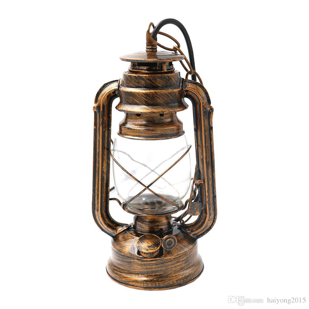 Retro Vintage Lantern Kerosene Pendant Lights Hiking Camping Lamp Base Antique Ceiling On Sale Portable Lanterns Asian Paper Propane