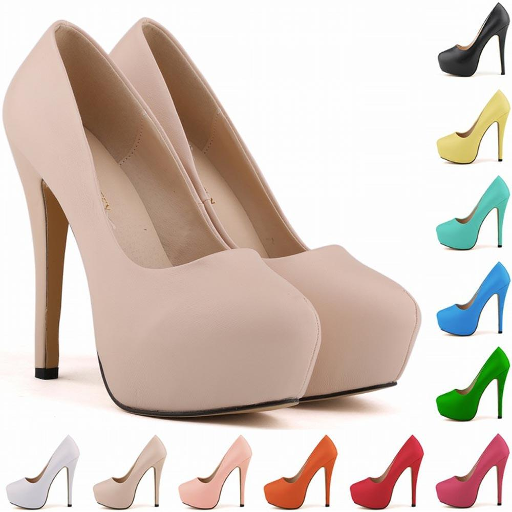 2d3b2238bc88 Chaussure Femme Womens Ladies Matt Platform Stiletto High Heels Party  Wedding Women Shoes US 4 11 D0054 Clogs For Women Cheap Shoes Online From  Shjjvs888