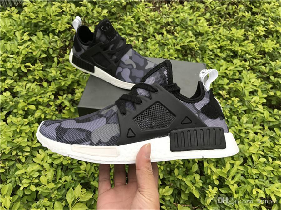 adidas NMD XR1 Grey Three Solar Red