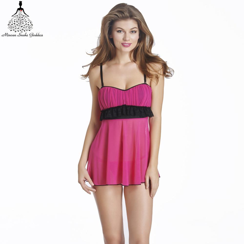 2017 Sleepshirts Women Sleepwear Indoor Clothing Nightgown Home ...