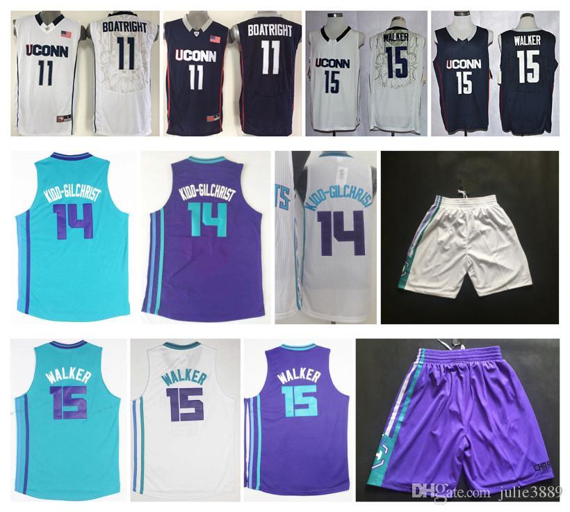 100% authentic 5c824 4258e uconn huskies 15 kemba walker navy blue jersey
