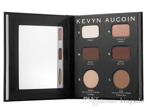DHL Kevyn Aucoin Contour Book Highlight & Shadow plate DHL GIFT top quality best price top quality