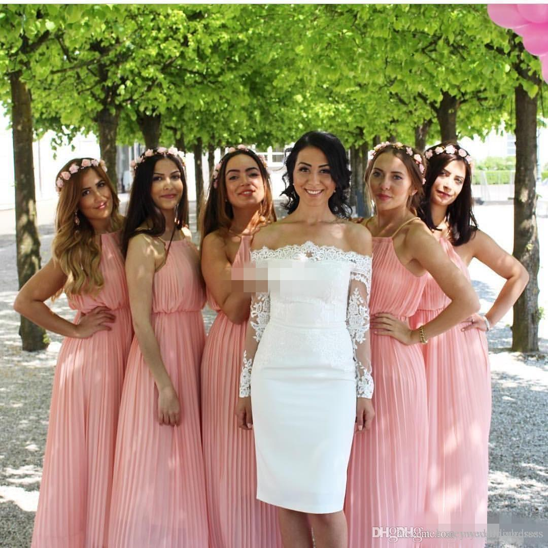 Bohemian bridesmaid dresses country wedding guest party gowns long see larger image ombrellifo Gallery