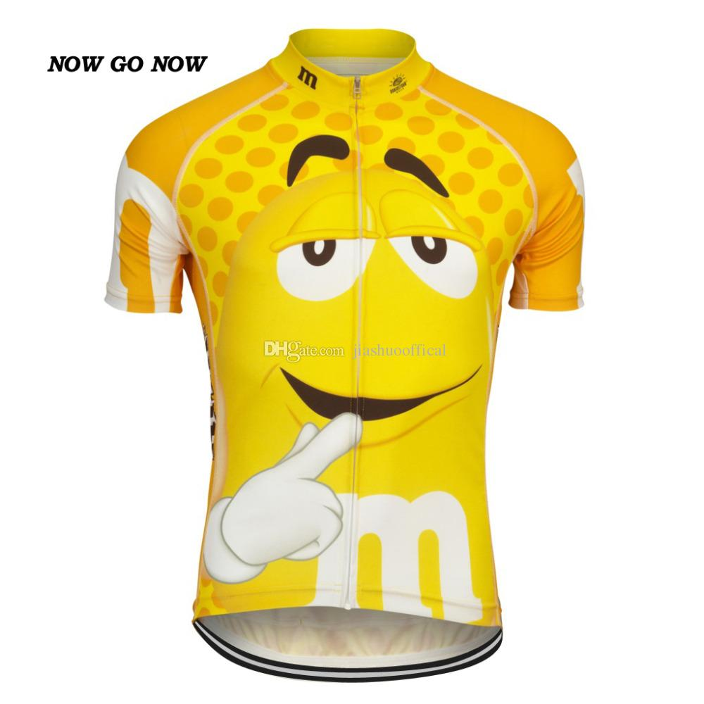 Customized NEW FUNNY 2017 JIASHUO Cartoon CANDY Biking mtb road RACING Team Bike Pro Cycling Jersey / Shirts Clothing Breathing Air Chooses