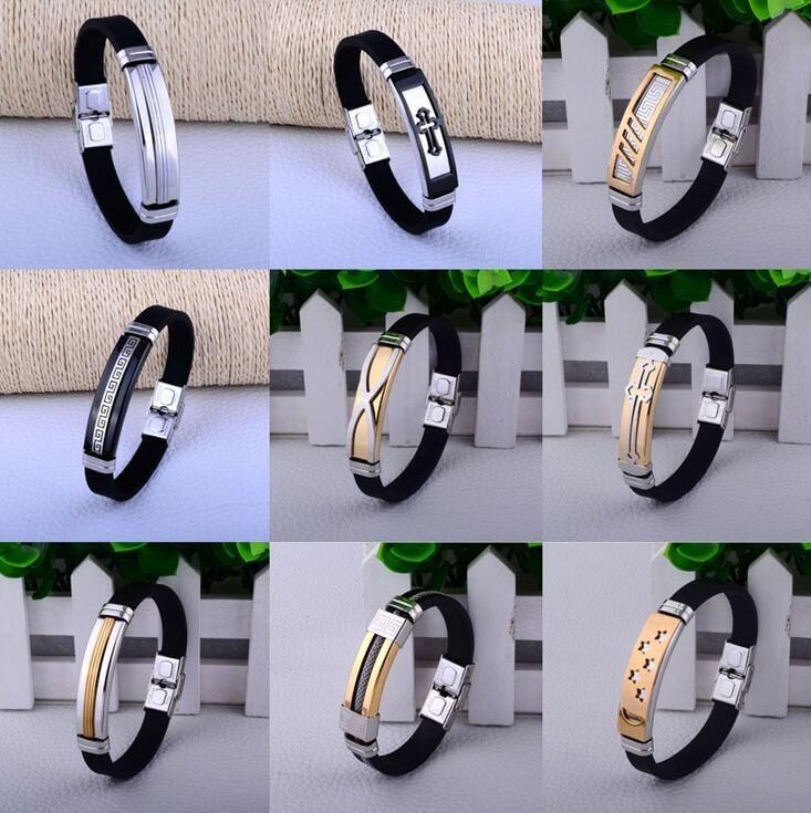 Buona A ++ La nuova tendenza del bracciale in silicone braccialetto FB390 mix ordine 20 pezzi molto Slap Snap bracciali