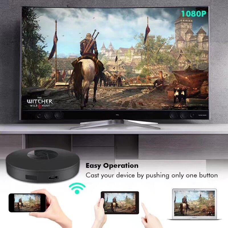 2017 WiFi Wireless Display Dangle RK3036 8189 1080P Mini Display Receiver HDMI TV Miracast DLNA Airplay for IOS/Android/Windows/Mac